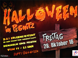 Halloween-Party in Pegnitz 2018